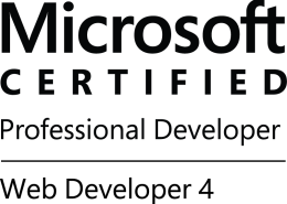 MCPD-WebDev4-logo-BW